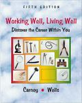 Working Well, Living Well Discover the Career Within You