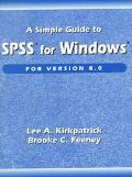 Spss F/wind.simple Guide Version 8.0