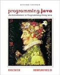 Programming.Java An Introduction to Programming Using Java