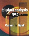 Doing Data Analysis With Spss 10.0