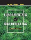 Fundamentals of Mathematics (with CD-ROM, Make the Grade, and InfoTrac)