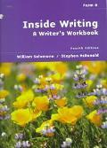 Inside Writing A Writer's Workbook  Form A