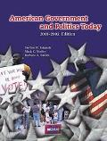 American Government and Politics Today 2001-2002
