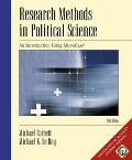 Research Methods in Political Science An Introduction Using Microcase