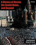 History of Russia, the Soviet Union, and Beyond With Infotrac