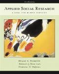 Applied Social Research With InfoTrac A Tool For Human Services