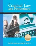 Criminal Law And Procedure with infotrac