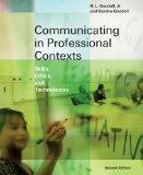 Communicating in Professional Contexts: Skills, Ethics, and Technologies (with CD-ROM, Speec...