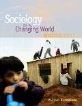 Sociology in a Changing World With Infotrac