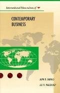 International Dimensions of Contemporary Business - John D. Daniels - Paperback