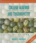 College Algebra+trigonometry