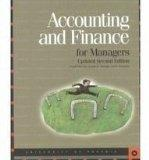 Accounting & Finance for Managers