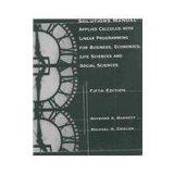 Applied Calculus With Linear Programming: For Business, Econmonics, Life Science and Social ...