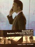 Essentials of Business Informaiton Systems