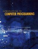 Introduction to Computer Programming (with CD rom) (Starting Out With Visual Basics.NET)