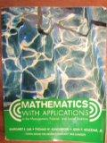 Mathematics with Applications (Custom Ed for Western Connecticut State University)