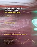Solutions Manual for Precalculus