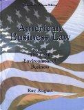 American Business Law (Book One: The Legal Environment of Business) (Preliminary Custom Edit...