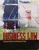 Business Law a Custom Version for the University of Texas