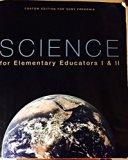 Science for Elementary Educators I&II