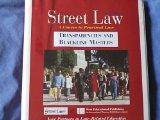 Street Law Transparencies And Blackline Masters Sixth Edition (A Course In Practical Law)