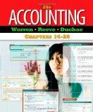 Accounting: Chapters 14-26