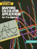 Graphing Calculator Applications for Prealgebra