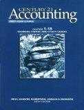 Century 21 Accounting 1st Year Course With Working Papers 1-18