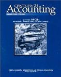 Century 21 Accounting: 1st Year Course, Chapters 19-28