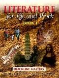 Blackline Mastr, Literature F/Life and Wrk Book 1