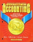 SOUTH-WESTERN CENTURY 21 ACCOUNTING ADVANCED WORKING PAPERS CHAPTERS 11-24 [SEVENTH EDITION]