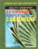 South-western Economic Education for Consumers: Printed Test and Form Masters