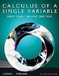 Calculus of a Single Variable: Early Transcendental Functions (Available 2011 Titles Enhance...