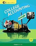 College Accounting, Chapters 1-15 (Available Titles CengageNOW)