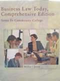 Business Law Today Comprehensive Edition Santa Fe Community College