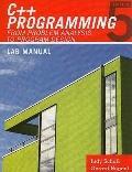 Lab Manual for Malik's C++ Programming: from Problem Analysis to Program Design