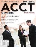 Managerial ACCT: 2010 Student Edition (with Printed Access Card)
