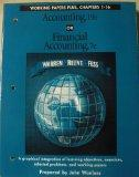 Working Papers Plus for Use With Accounting: Graphical Integration of Learning Objectives, E...