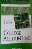 College Accounting: Study Guide/Working Papers, Chapters 16-28