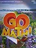 California Go Math! Common Core Grade 4 Teacher Edition Chapter 11