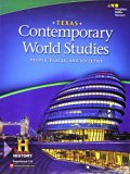 Contemporary World Studies: People, Places, and Societies Texas: Student Edition 2016