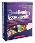 SCHOLASTIC TEACHING RESOURCES 3-MINUTE READING ASSESSMENTS