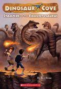 Stampede Of The Edmontosaurus (Dinosaur Cove Series #6)