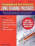 Standardized Test Practice: Long Reading Passages: Grades 5-6: 16 Reproducible Passages With...