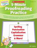 Interactive Whiteboard Activities: 5-Minute Proofreading Practice: 180 Quick & Motivating Ac...