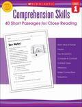 Comprehension Skills : Short Passages for Close Reading Grade 1