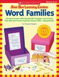 Shoe Box Learning Centers: Word Families : 30 Instant Centers with Reproducible Templates an...