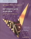Aufmann Intermdiate Algebra Paperback Student Support Edition Seventhedition