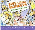 Five Little Monkeys Jumping on the Bed Lap Board Book
