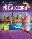 Holt McDougal Pre-Algebra Florida: Student Edition 2011